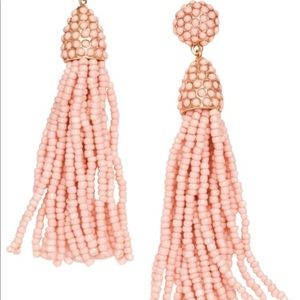 BaubleBar Jewelry - Bauble bar piñata beaded tassels in peach